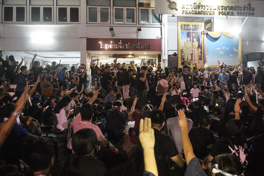 Hospital, Thai Police Try Arresting Hospitalized Anti-Government Protest Leaders