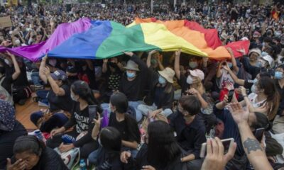 Thailand, Thai, LGBT Community and Anti-Government Protesters Unite