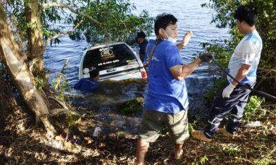 Three Dead after Rescue Vehicle Crashes and Plunges into a Reservoir