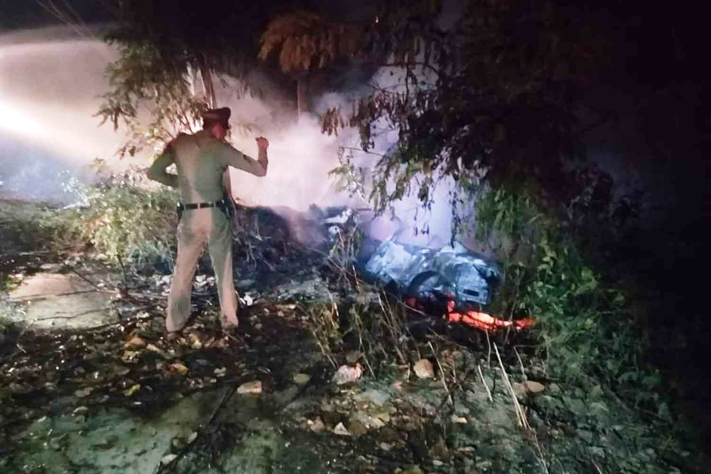 Phetchaburi, accident, police, Thailand, Crash, accident