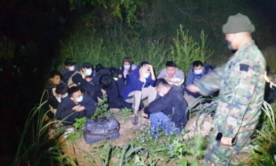 16 Chinese Nationals Arrested for Crossing Mekong into Thailand Illegally