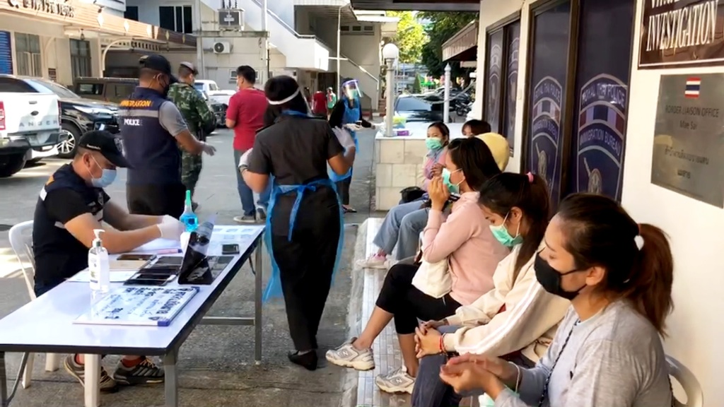 Illegal Returnees Summoned to Hear Charges in Chiang Rai