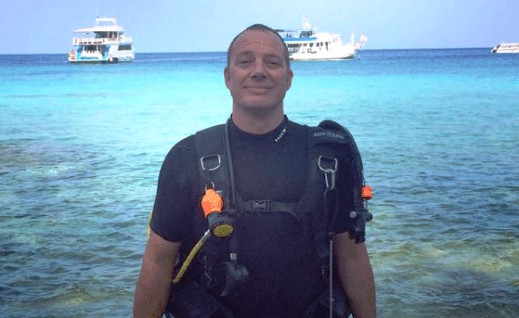 Thailand, diver, dive Koh Pha-ngan