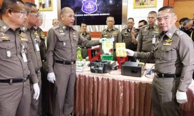 Narcotics Suppression Police Seize 500 Kilograms of Crystal Meth