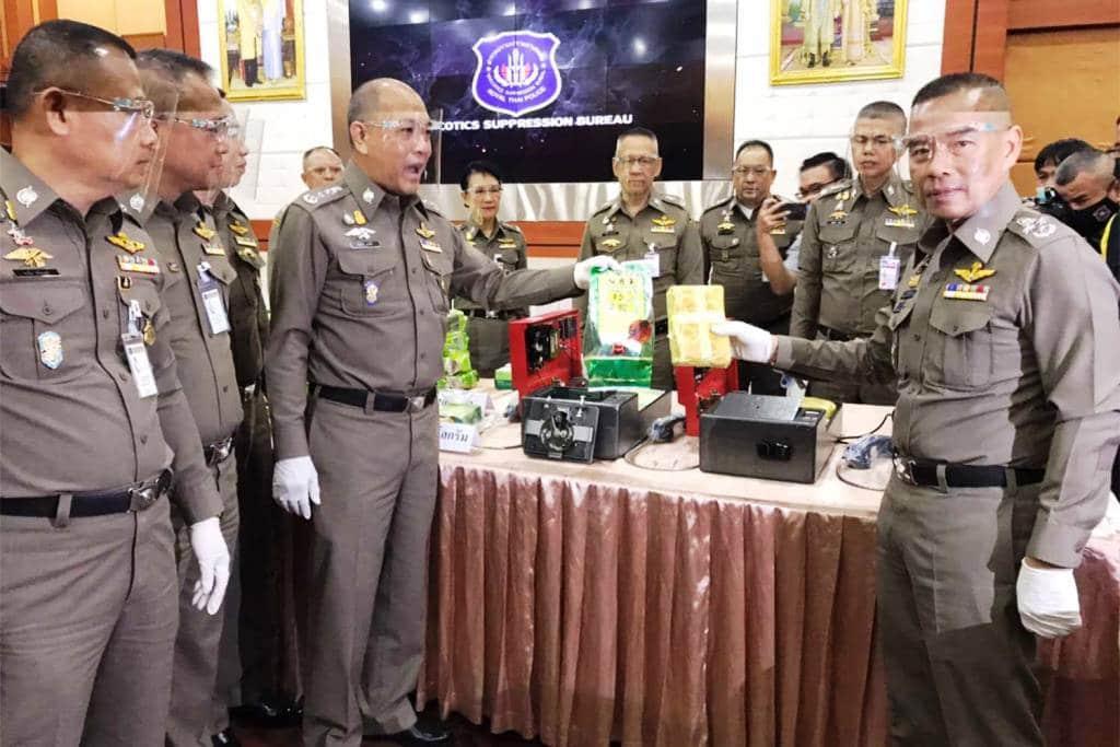 Narcotics Suppression Police Seize 500 Kilograms of Crystal Meth
