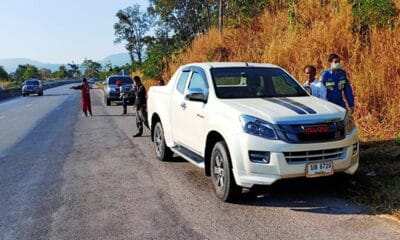Phitsanulok, Police Captain Found Dead in his Parked Pickup in Northern Thailand