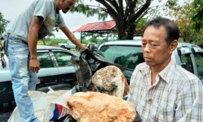 Thai Man Offered $4.2Million for Whale Puke he Found on Beach