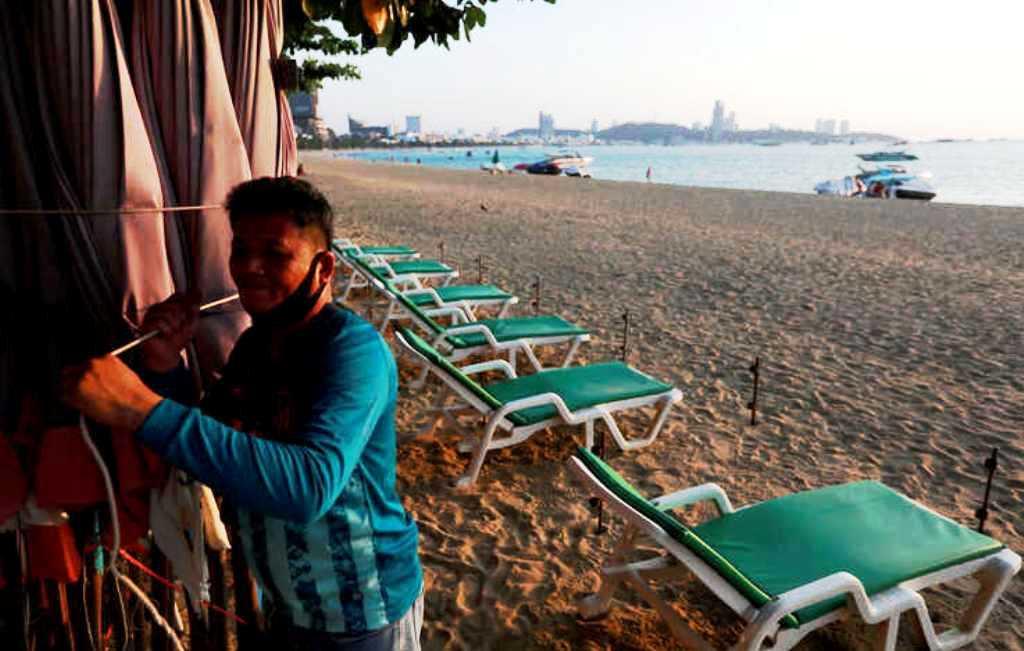 Thailand, Resort City of Pattaya,Covid-19,Lockdowns