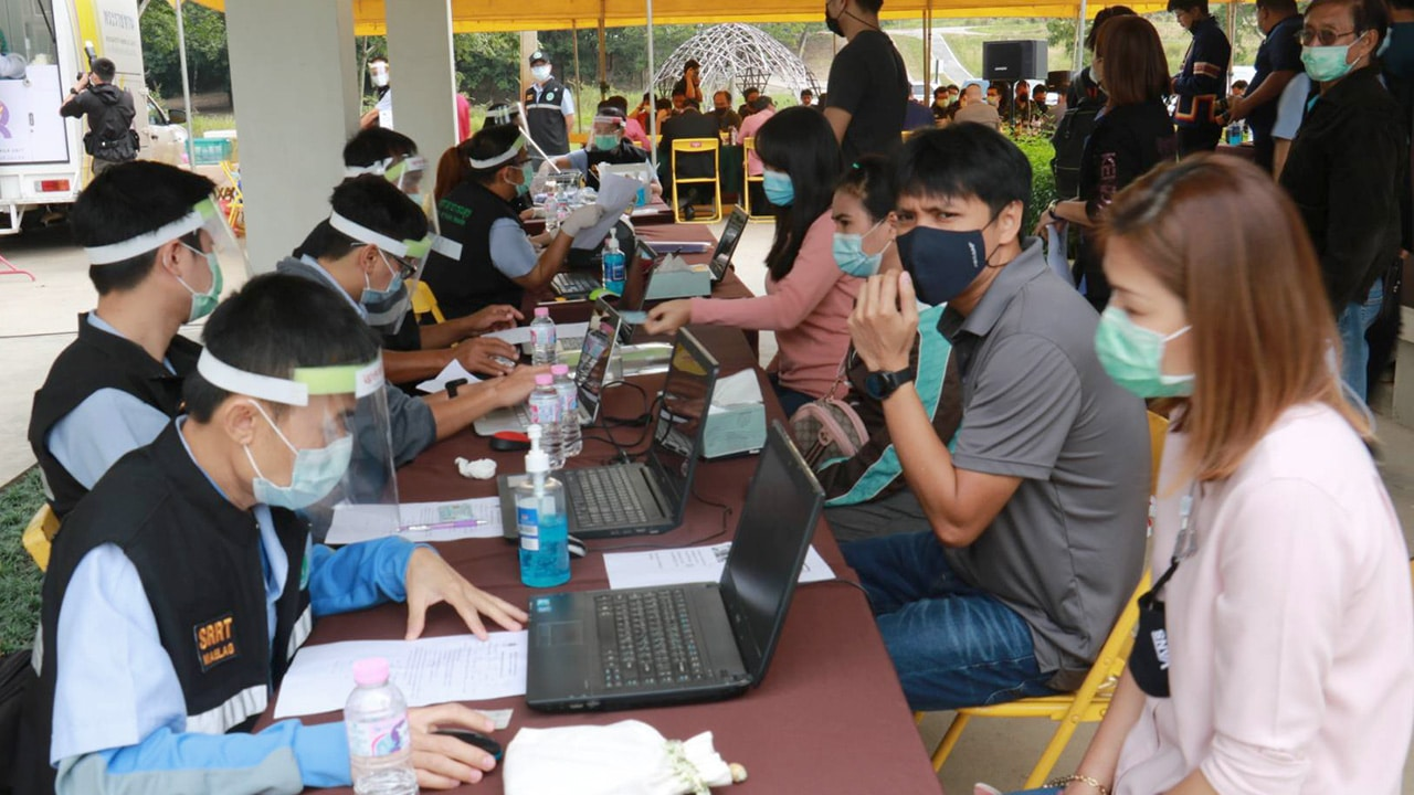 Chiang Rai Province recorded 8 cases of new coronavirus cases
