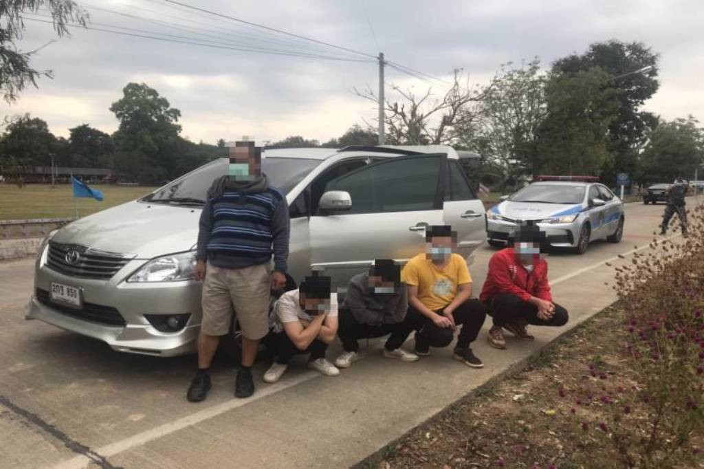 Three Thai Men Arrested for Smuggling Chinese Nationals into Chiang Rai