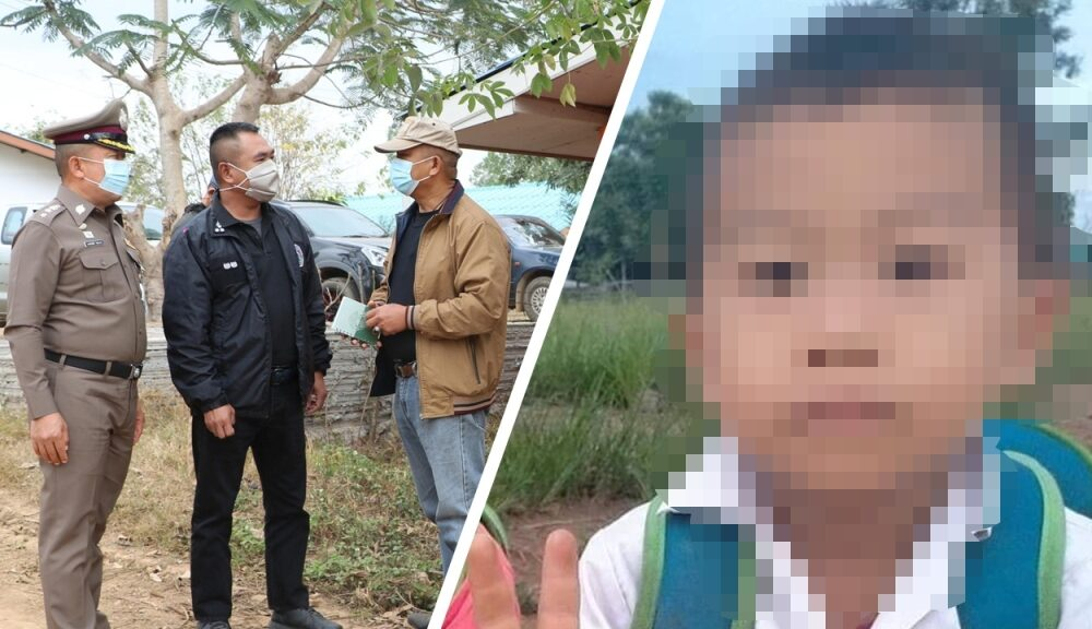 Police in Chiang Rai Hunt for the Killer of Seven Year Old Boy