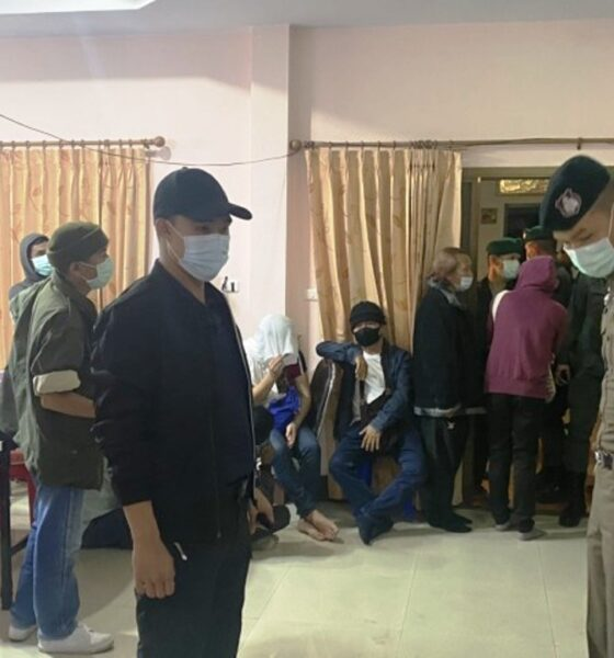 34 Arrested at Illegal Gambling Den in Northern Thailand