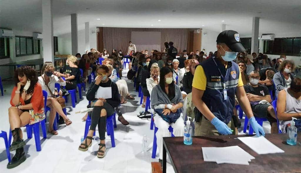 89 Foreign Koh Phangan Partiers Get Suspended Jail Sentences