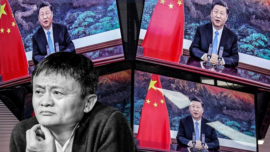 reporting, Xi Jinping, news media, alibaba, jack ma