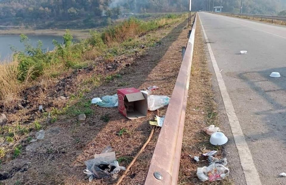 Chiang Mai Threaten to Close Mae Kuang Dam Park Due to Litterbugs