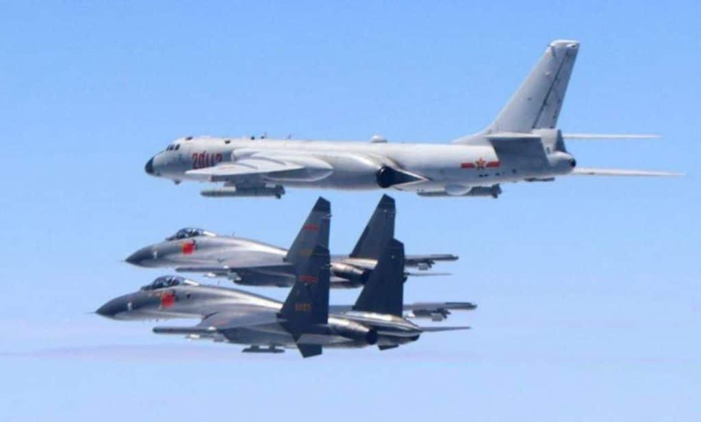 China Escalates Flights of Combat Aircraft Over Taiwan's Airspace