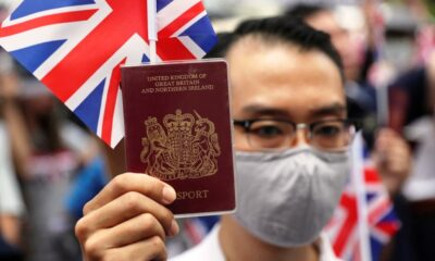 China Rejects Hong Kongers Using British National (Overseas) Passports