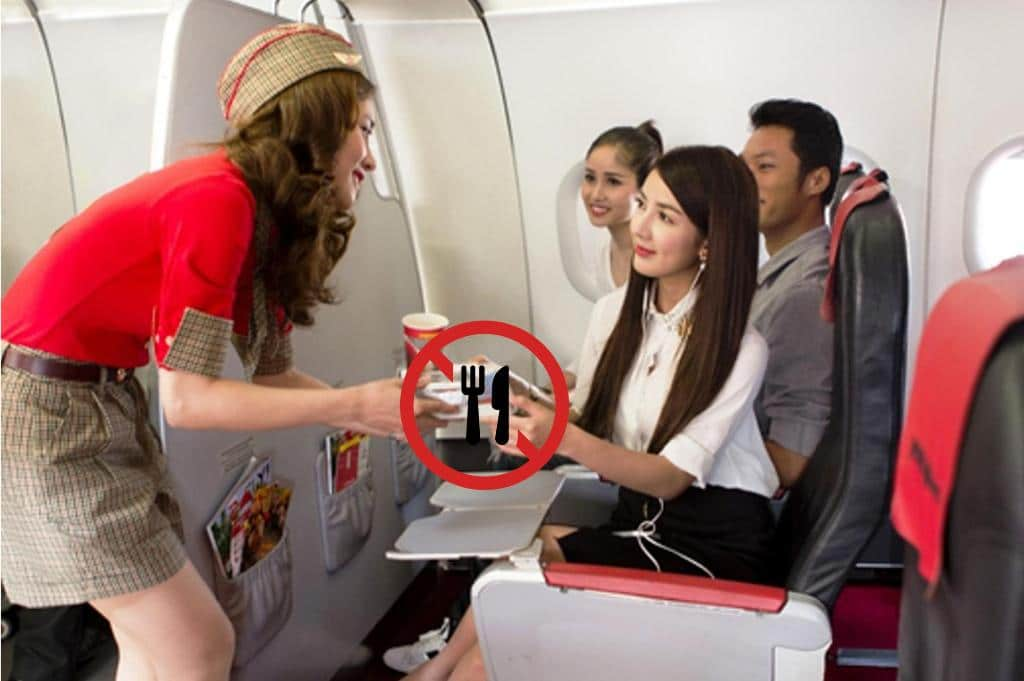 Thai Civil Aviation Authority Bans Food Services on Domestic Flights