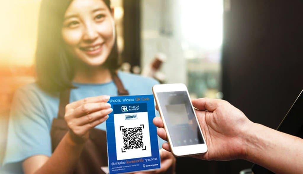 qr code,PromptPay,Cashless Transactions,Thailand