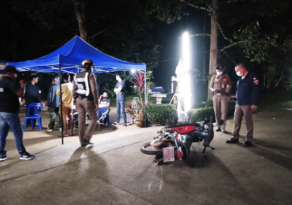 Thailand, Police, Nakhon Si Thammarat, face Mask