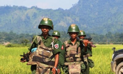 army, Fighting Intensifies in Myanmar's Northern Shan State