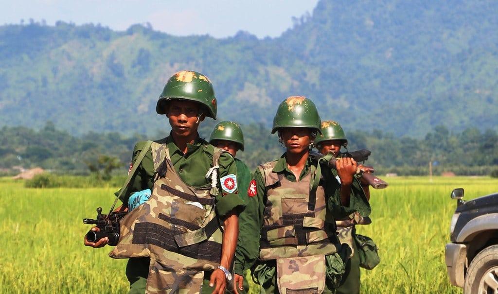 army, Fighting Intensifies in Myanmar's Northern Shan State