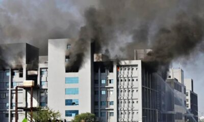 Major Fire, Covid-19 vaccine, Covishielf India