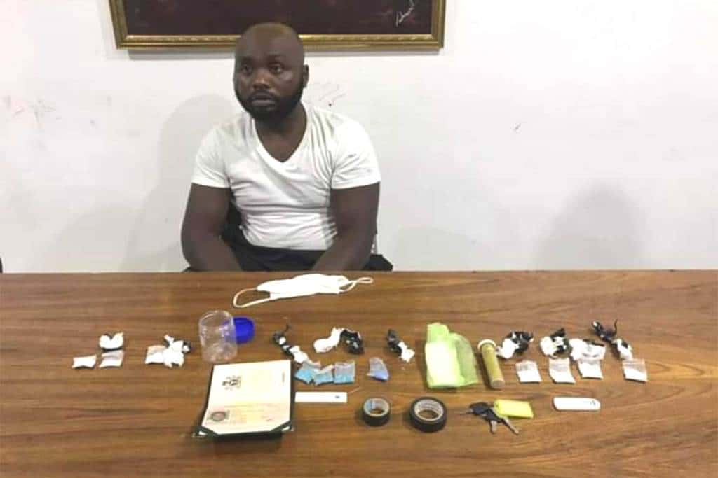Nigerian Man Busted in Phuket Selling Crystal Meth, Cocaine and Ecstasy