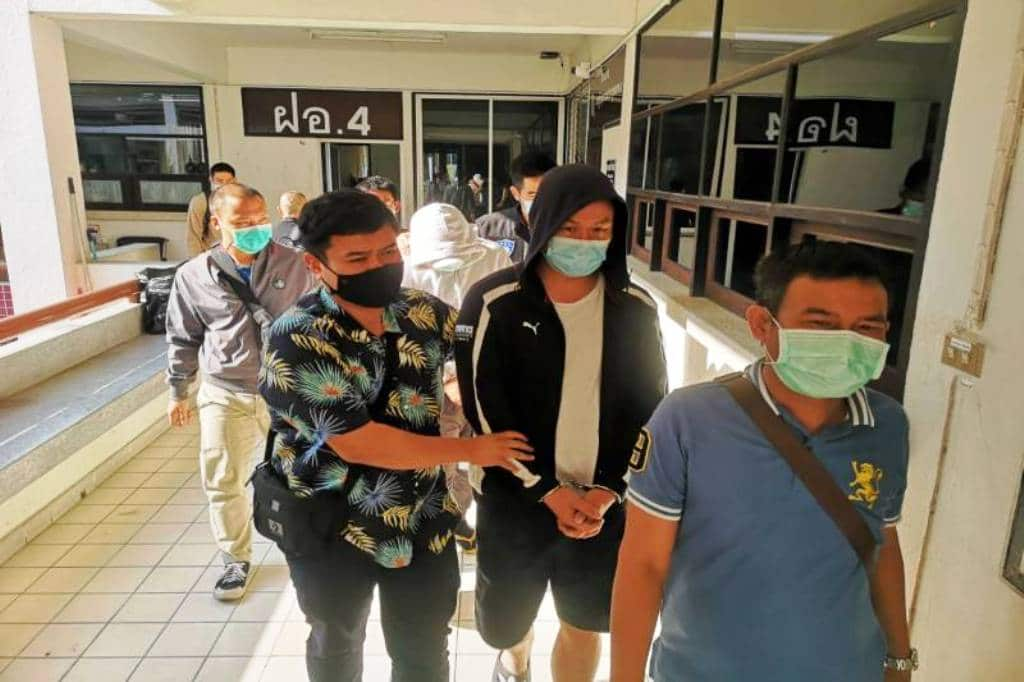 Police Bust Mobile Banking Scammers in Northern Thailand