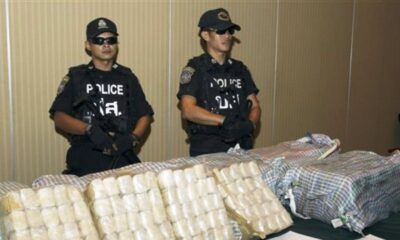 Police Take Down Drug Gang Trafficking Meth Pills in Northeastern Thailand