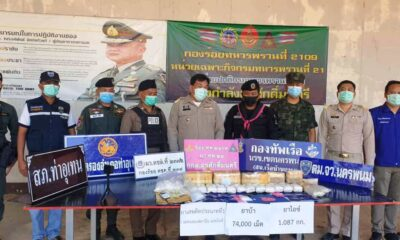 Police, Army Ranger Patrol Nabs Drug Runner on the Banks of the Mekong River