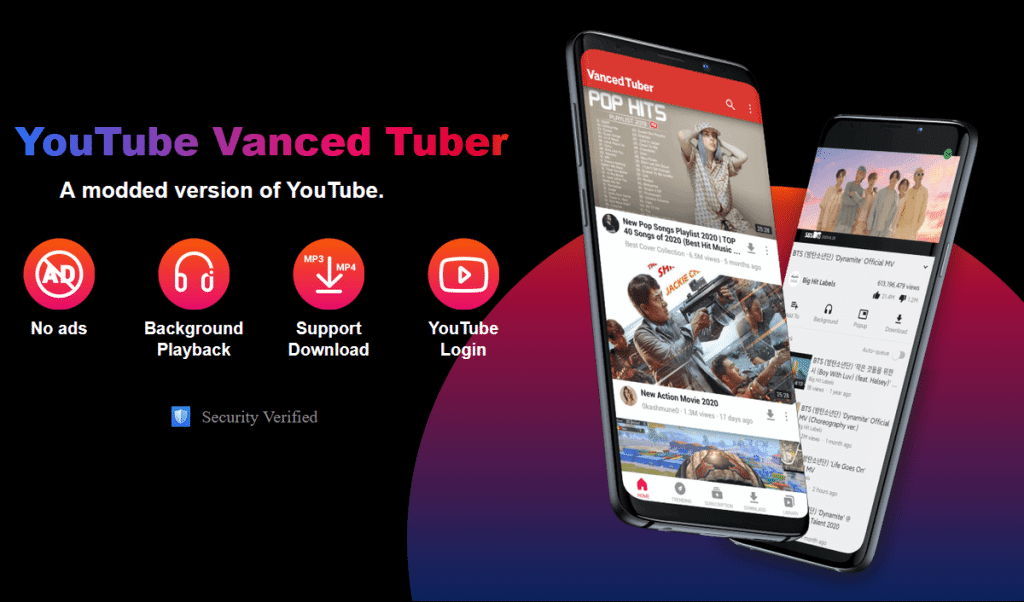 Characteristics of Youtube Vanced and Top-Notch Features of VidMate