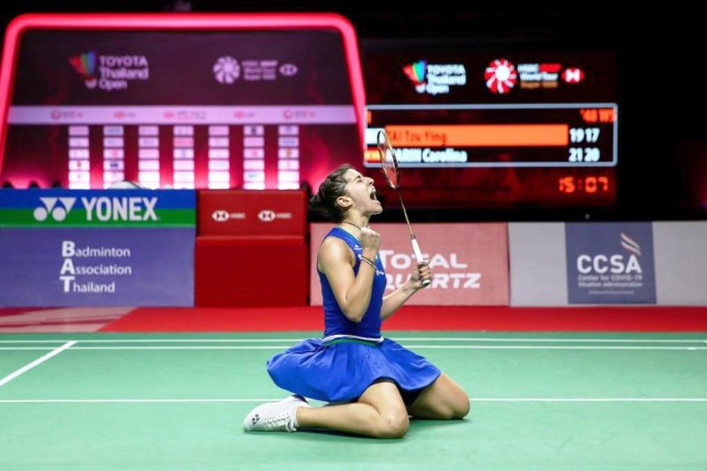 Thailand Open, Carolina Marin, Badminton, Thailand Open,