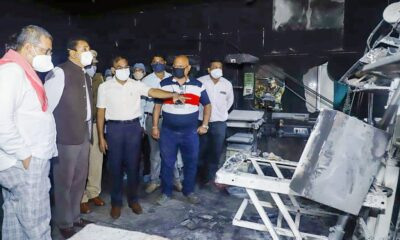 Ten New Born Babies Killed after Fire Rages Through Hospital in India
