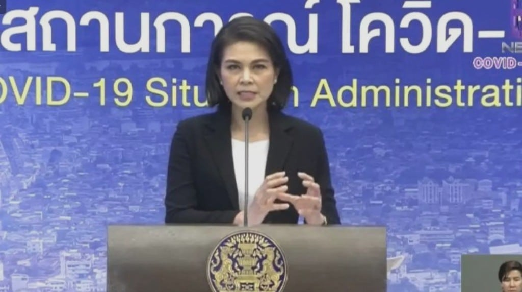 Thai Health Department Reports Covid-19 Infections Slowing