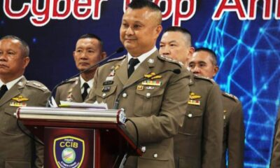 Thailand,Lese Majeste, cyber cops, police