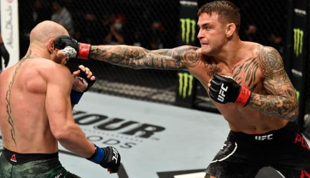 UFC Fighter Dustin Poirier KO's Conor McGregor in the 2nd Round
