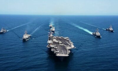 US Carrier Group Enters South China Sea Amid China-Taiwan Tensions