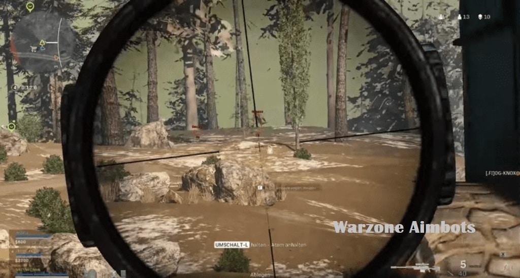 Warzone Aimbots