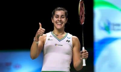 Women's Olympic Badminton Champion Carolina Wins Thailand Open