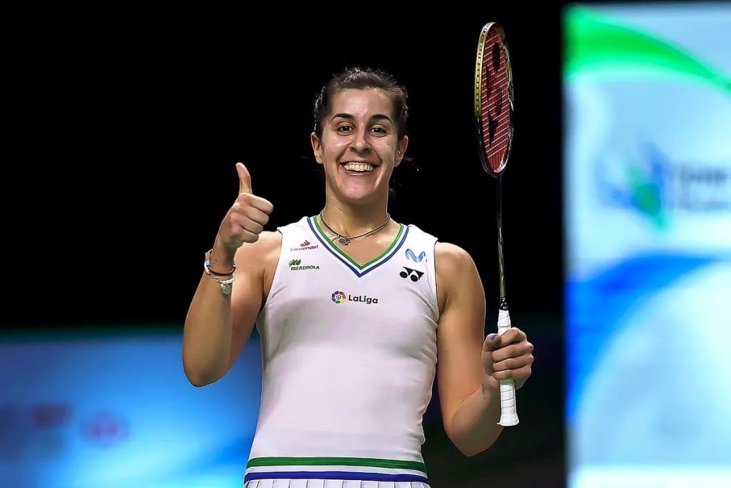 Women's Olympic Badminton Champion Carolina Wins Thailand Open