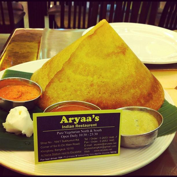 Aryaa's Indian food