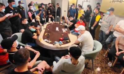 16 Foreigners, 5 Thai Detained for Illegal Gambling in Pattaya City
