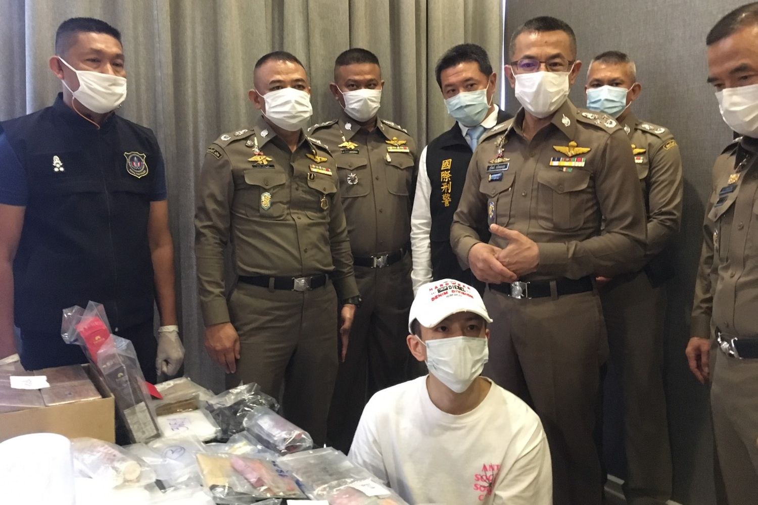 """Taiwanese Man Busted in Bangkok Over """"K-Powdered Milk"""" Drug Cocktail"""