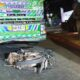 Motorcycle, Motorcyclist Hit by Pickup then Run Over by 2 Trailer Trucks
