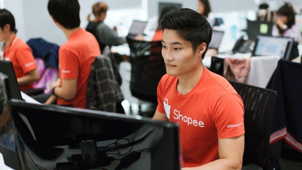 Thailand , e-Commerce, Shopee. delivery service