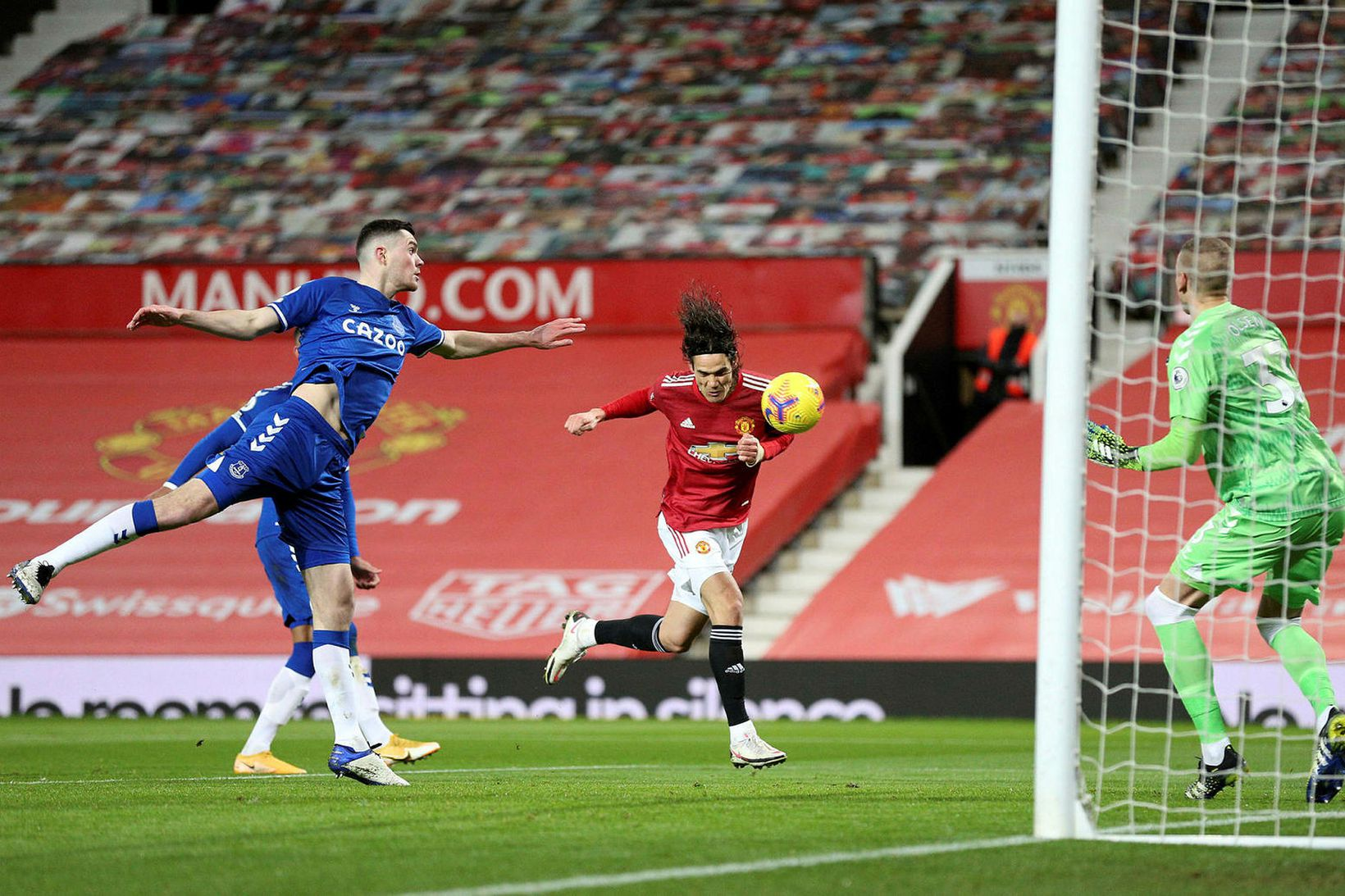 calvert-lewin,Manchester United vs Everton Football Club Ends in a 3-3 Draw