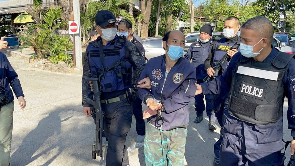 48 Year-old Man Arrested in Northern Thailand for Shooting Policeman in Chiang Mai