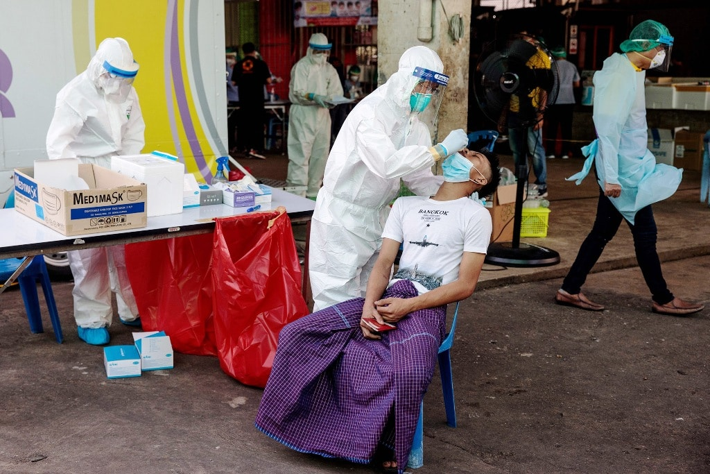 7,000 Factory Workers Have Tested Covid-19 Positive in Thailand