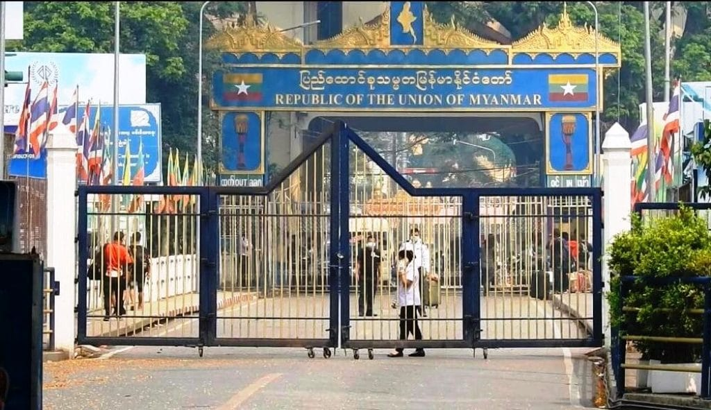 Border Alert Issued in Chiang Rai Over Anti-Coup Rally in Tachilek